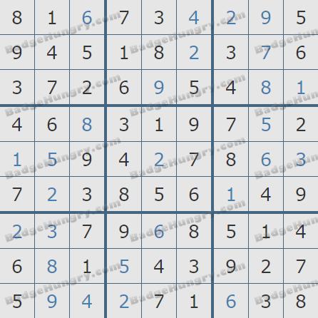Pogo Daily Sudoku Solutions: April 27, 2019