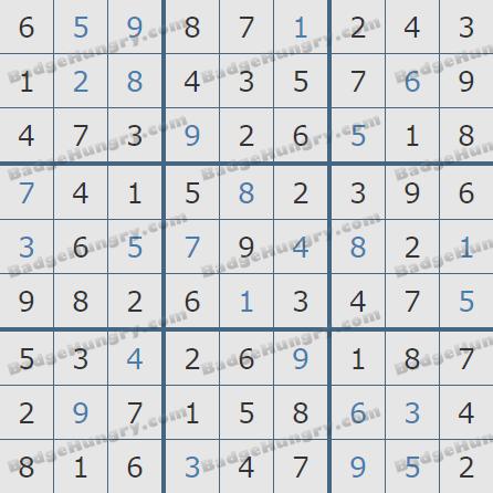 Pogo Daily Sudoku Solutions: April 29, 2019