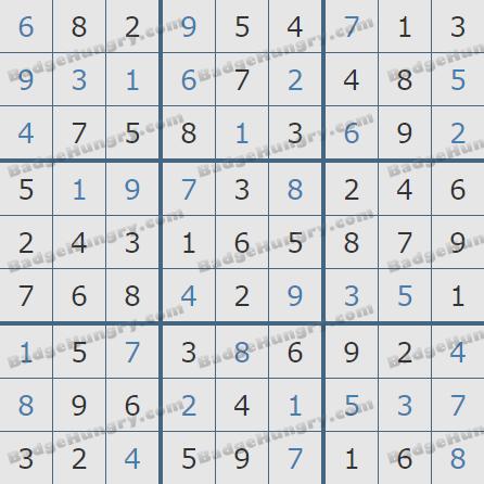 Pogo Daily Sudoku Solutions: April 30, 2019