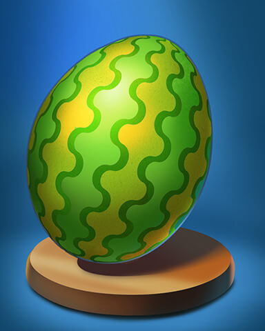 Slingo Blast - Watermelon Egg Badge