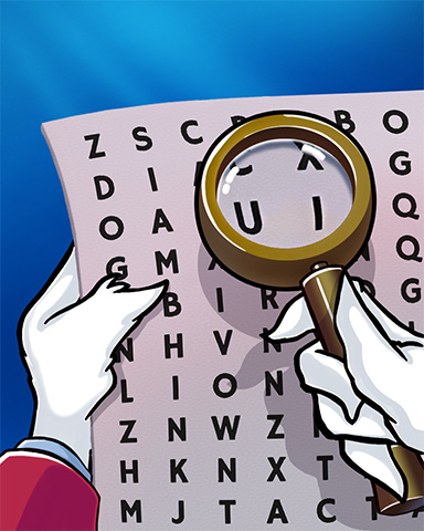 Word Search Daily HD NAME Mix-n-Match Badge