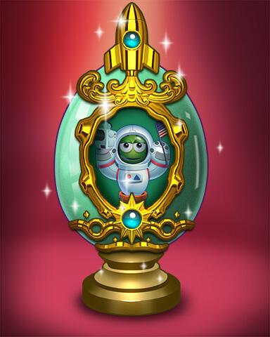 Poppit Bingo - Golden Popper Egg Badge