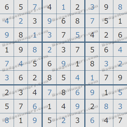 Pogo Daily Sudoku Solutions: May 4, 2019