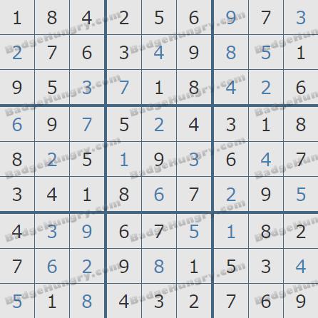 Pogo Daily Sudoku Solutions: May 5, 2019