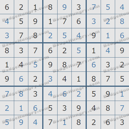 Pogo Daily Sudoku Solutions: May 7, 2019