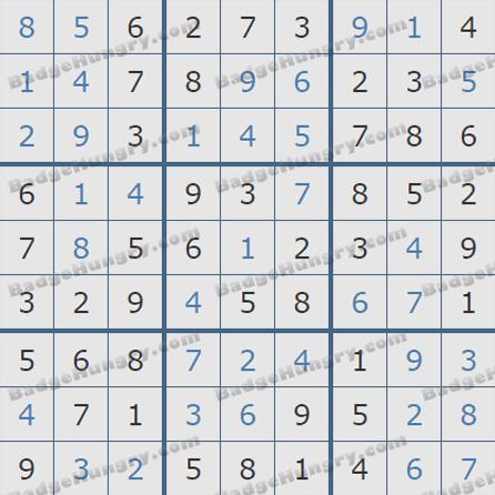 Pogo Daily Sudoku Solutions: May 19, 2019