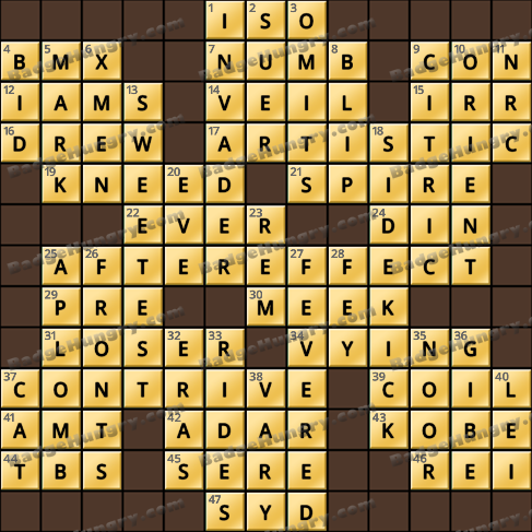 Crossword Cove HD Solution: May 23, 2019