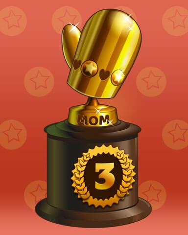 Marvelous Moms Badge Marathon Badge