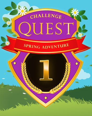 Spring Adventure Badge