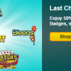 Save 50% on Select Flash Game Badges