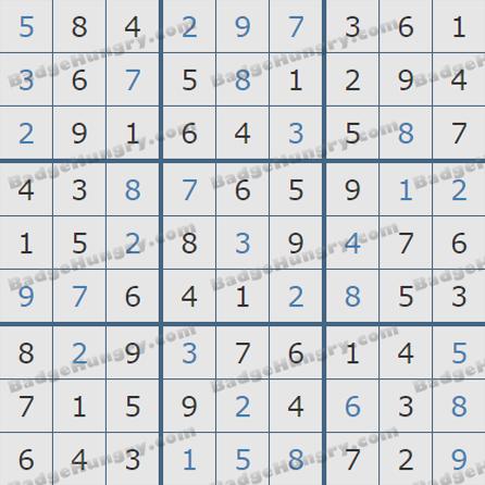 Pogo Daily Sudoku Solutions: June 15, 2019