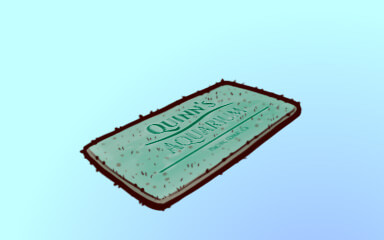 Quinns Aquarium Touch Pool Badge