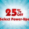 Save 25% in Select Games