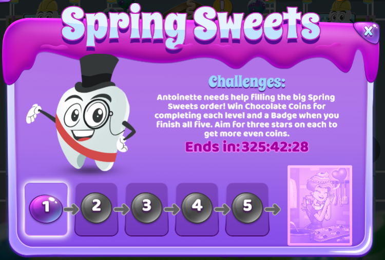 Sweet Tooth Town: Spring Sweets Event