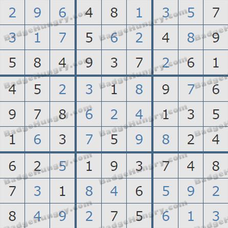 Pogo Daily Sudoku Solutions: July 16, 2019