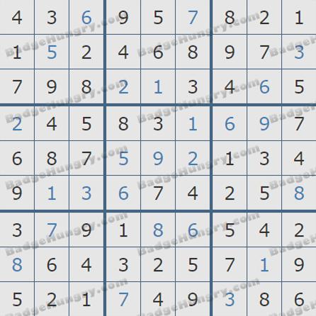 Pogo Daily Sudoku Solutions: July 17, 2019