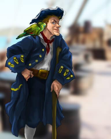 Treasure Island  Episode 3 Badge