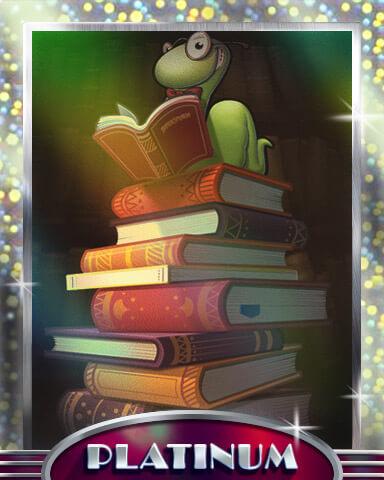 Bookworm HD Mix-n-Match Badge
