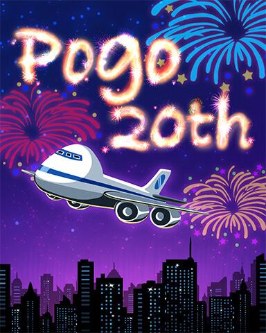 Pogo's 20th Anniversary Celebration Badge