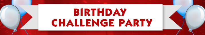 Pogo's 20th Birthday Challenge Party