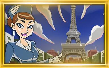 Jet Set Solitaire New Level Badge