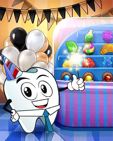 Birthday Challenge Party Event Reward Badge
