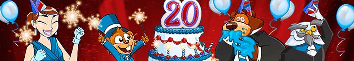 Pogo's 20th Anniversary Celebration