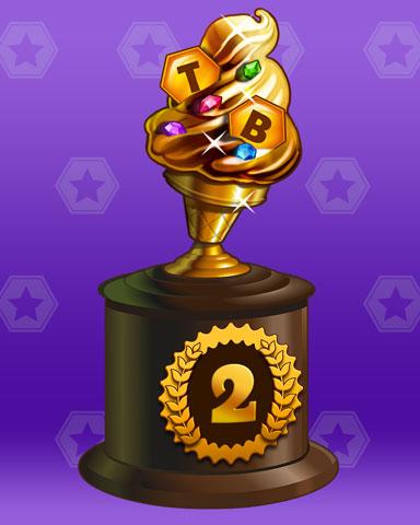 Golden Cone Badge Marathon Badge