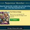 Superstar: Stack'em Platinum Badge