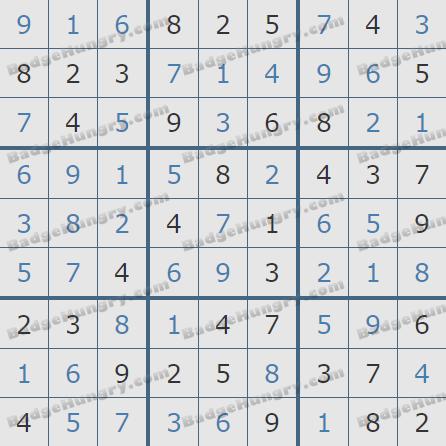 Pogo Daily Sudoku Solutions: October 31, 2019
