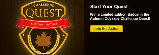 Challenge Quest Autumn Odyssey