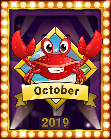 October 2019 Game of the Month Crossword Cove HD Badge