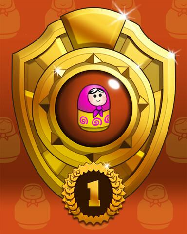 Doll Dash Badge Marathon Badge
