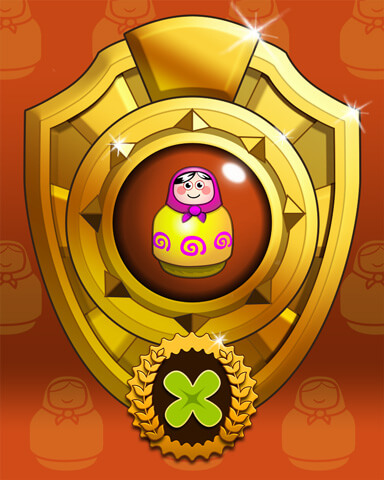 Doll Dash Victory Badge