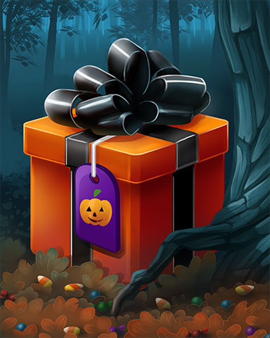 Ghostly Gift Badge