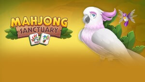 Mahjong Sanctuary (Game Logo)