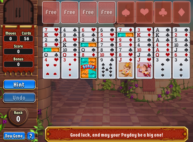 Payday Freecell HD
