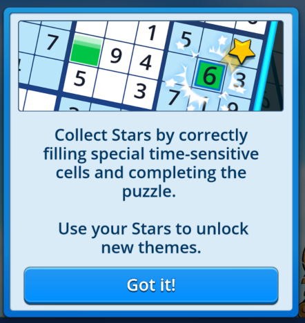 Pogo Daily Sudoku Update: Stars