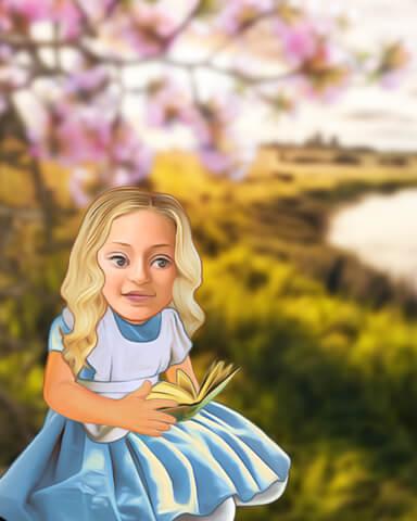 Alice in Wonderland Episode 1 Badge