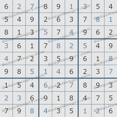 Pogo Daily Sudoku Solutions: November 24, 2019