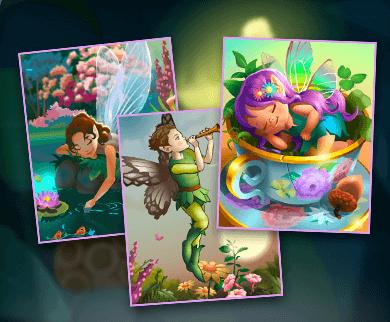 Save 25% on all Animated Fairyland Badges