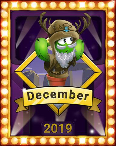 December 2019 Game of the Month Poppit! Bingo Badge
