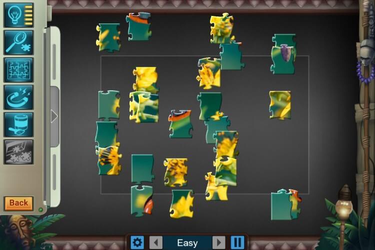 Jigsaw Treasure Hunter HD Screenshot