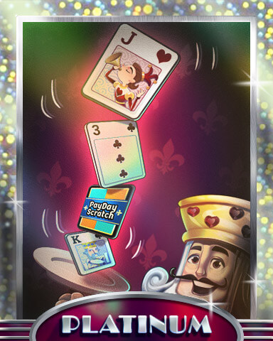 Payday Freecell HD Mix-n-Match Badge
