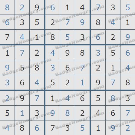 Pogo Daily Sudoku Solutions: December 4, 2019