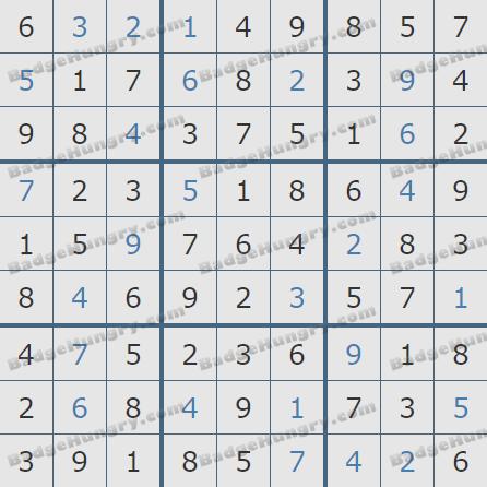 Pogo Daily Sudoku Solutions: December 17, 2019