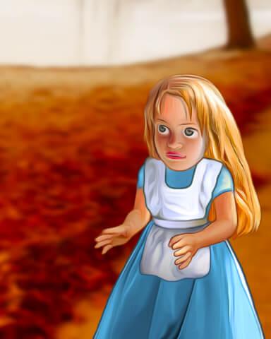 Alice and Rose Save Wonderland Episode 3 Badge