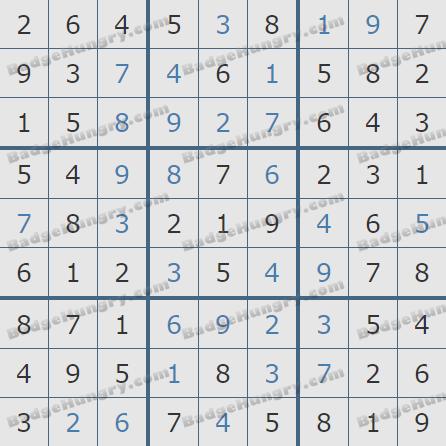 Pogo Daily Sudoku Solutions: January 3, 2020
