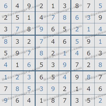 Pogo Daily Sudoku Solutions: January 7, 2020