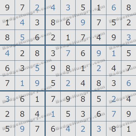 Pogo Daily Sudoku Solutions: January 10, 2020